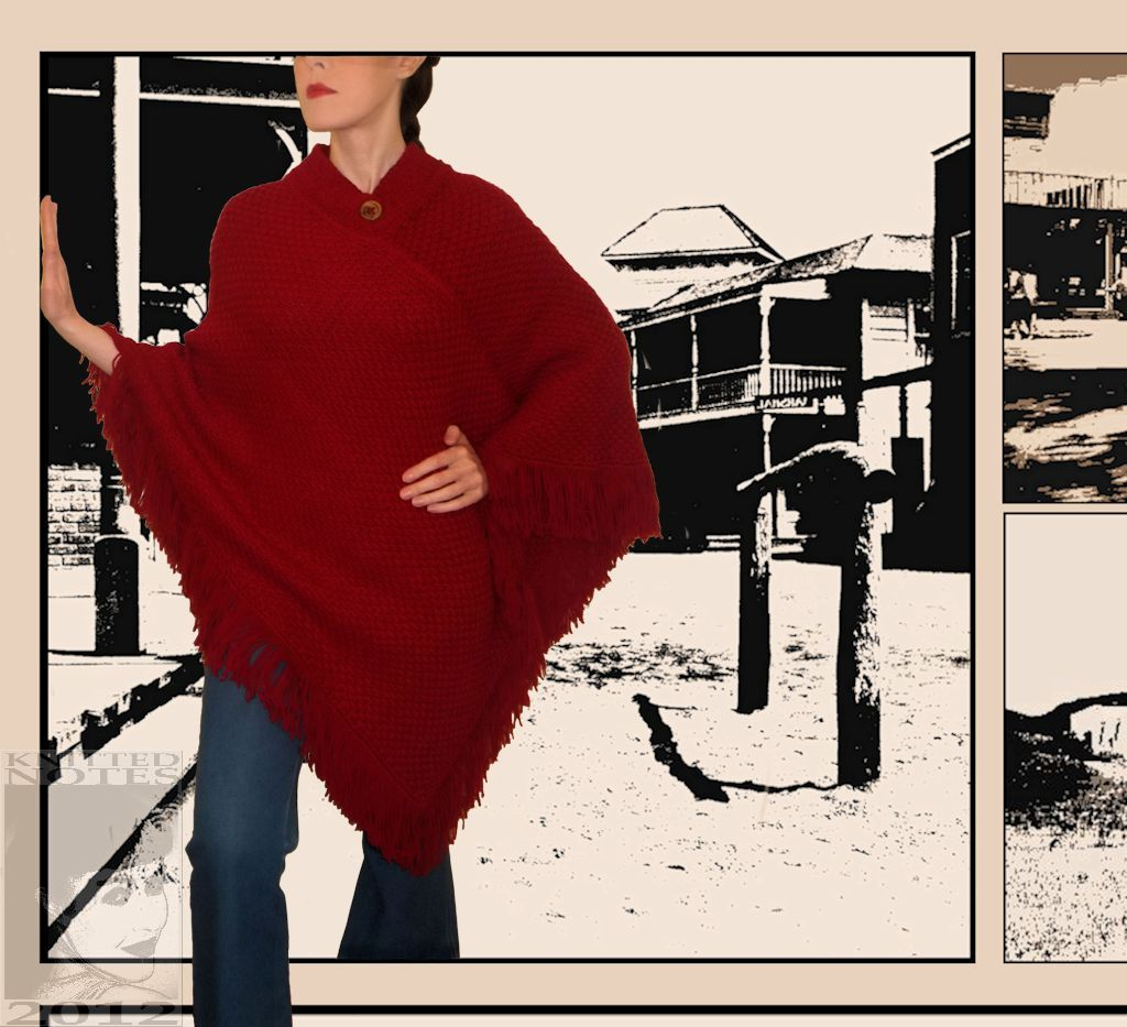how to make a clint eastwood poncho