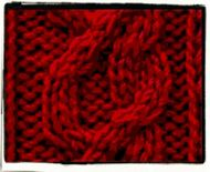 Lucy: cable motif'schart