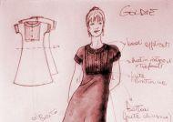 Goldie: knitting a little blackdress